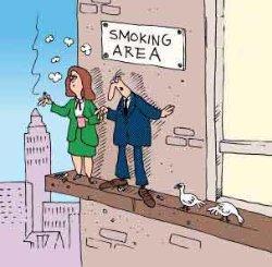 La suerte de los no fumadores